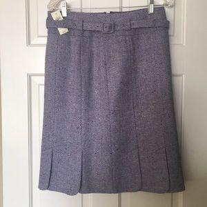 Ann Taylor skirt with belt